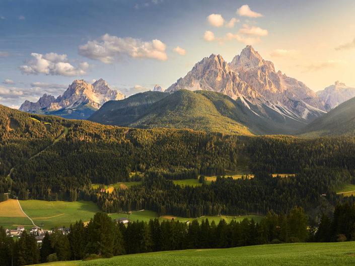 Gipfelgold in den Dolomiten