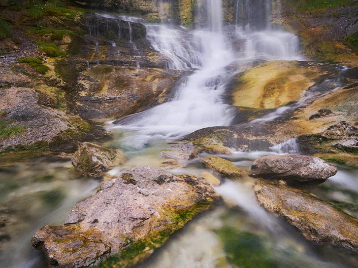 Verwunschener Wasserfall